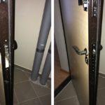 Замена ручек на двери в квартиру