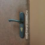 Замена замка, ручек и личинки на входной двери