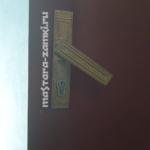 Комплексная замена на тамбурной двери